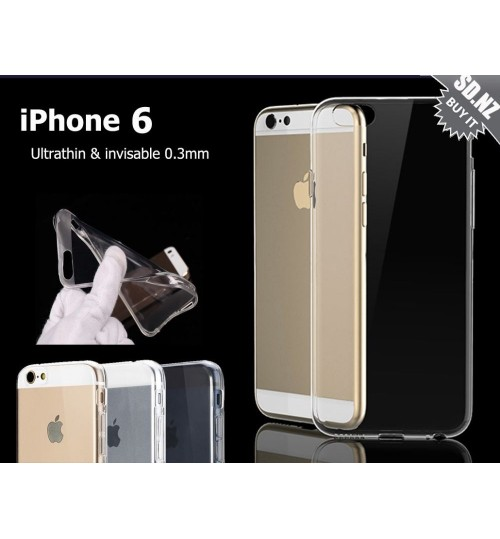 iPhone 6  6s Case Clear Gel Ultra Thin +SP