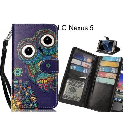 LG Nexus 5 case Multifunction wallet leather case