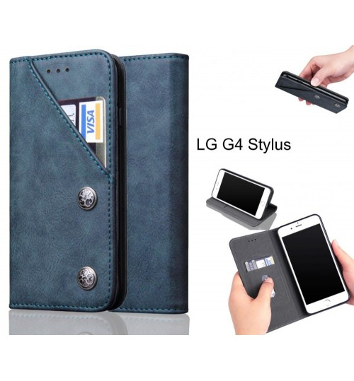 LG G4 Stylus Case vintage wallet leather case