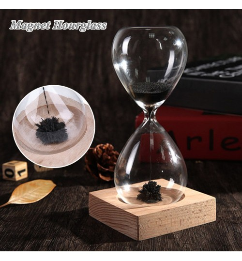 Magnetic Hourglass Novelty