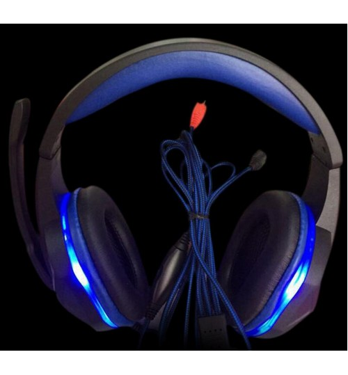 Headphone Surround Stereo Gaming Headset USB 3.5mm with Mic for PC