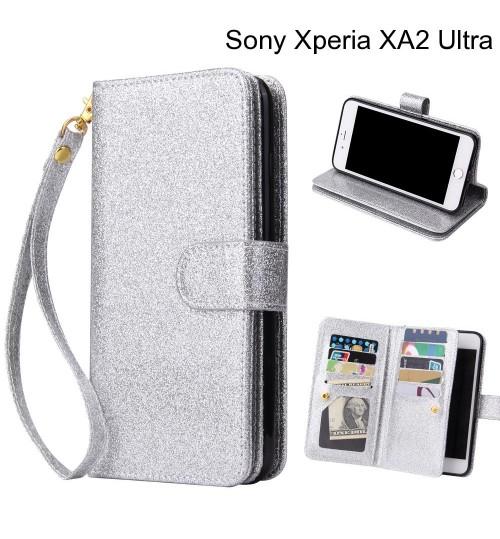 Sony Xperia XA2 Ultra Case Glaring Multifunction Wallet Leather Case