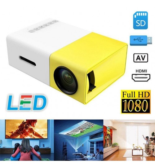 HD1080P LED Mini Projector