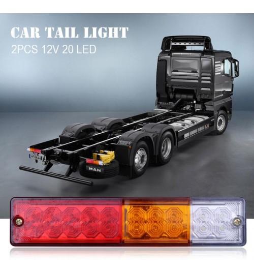 Waterproof 20 LED truck trailer lights x 1 pair