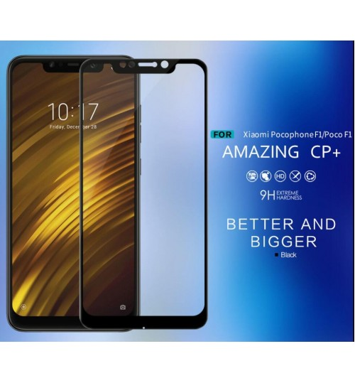 Xiaomi Pocophone F1 FULL Screen covered Tempered Glass Screen Protector