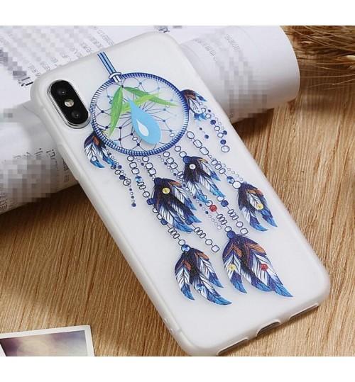iPhone XS Max Case Dreamcatchers Printed Soft Gel TPU Case