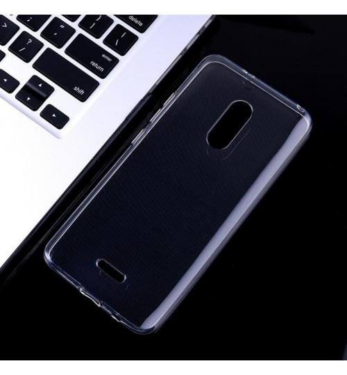 Alcatel 3c case crystal clear gel ultra thin