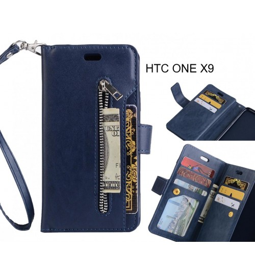 HTC ONE X9 case all in one multi functional Wallet Case