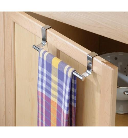 Over the Door of Cabinet, Drawer, Cupboard Towel Bar Holder Rail Rack