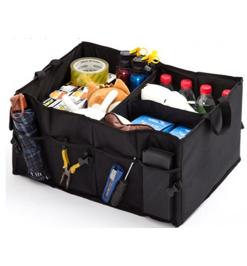 Black Car Boot Trunk Garage Organizer Storage Bag