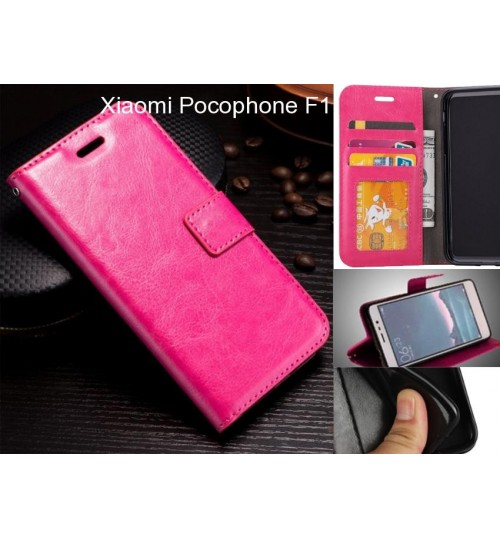 Xiaomi Pocophone F1 case Fine leather wallet case