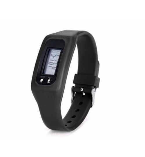 Basic Wristband LCD Display Pedometer with 4 Modes