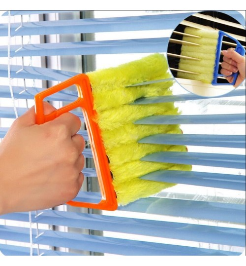 Microfibre Window Air Conditioner Blind Brush Duster Washable Cleaner