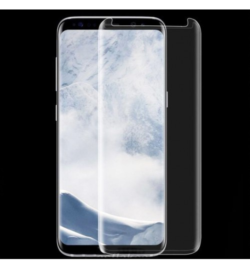 Galaxy S9 PLUS friendly screen protector curved Clear