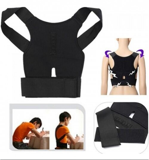 Back Support Lumbar Posture Corrector Back Belt-L