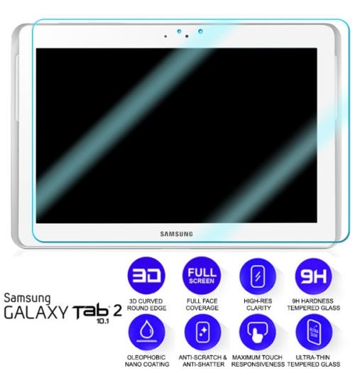 Galaxy Tab 2 10.1 inch Soft Ultra Clear HD Film Screen Protector