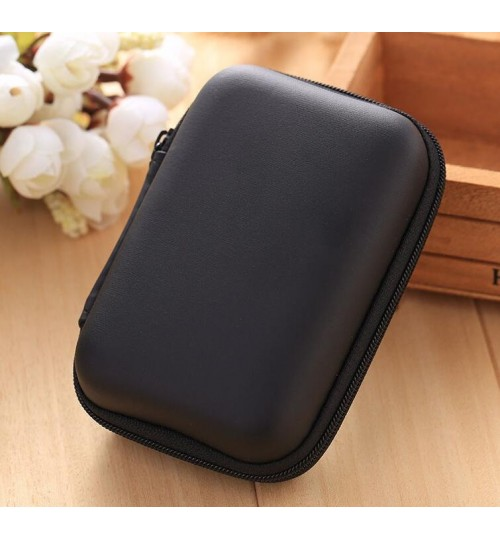 Mini Storage Box Earphones Hard Case Cable Holder Earbuds Carry Pouch