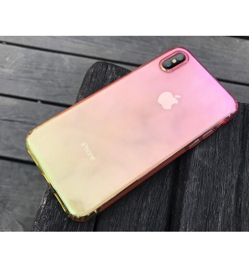iPhone XS Max TPU Soft Gel Changing Color Case