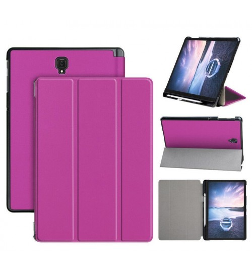 Galaxy Tab S4 10.5 Cover Case T830 T835 luxury fine leather smart cover