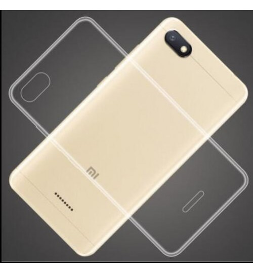Xiaomi Redmi 6A Case Clear Gel Ultra Thin soft tpu case
