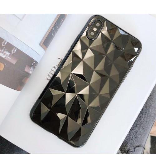 iPhone XS Max Case Crystal Diamond Slim Soft Rubber Case