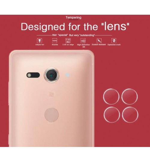 Sony Xperia XZ2 Compact camera lens protector tempered glass 9H hardness HD