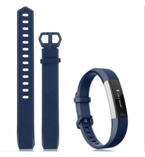 Fitbit Alta HR Silicone Band Replacement Wrist Band Large
