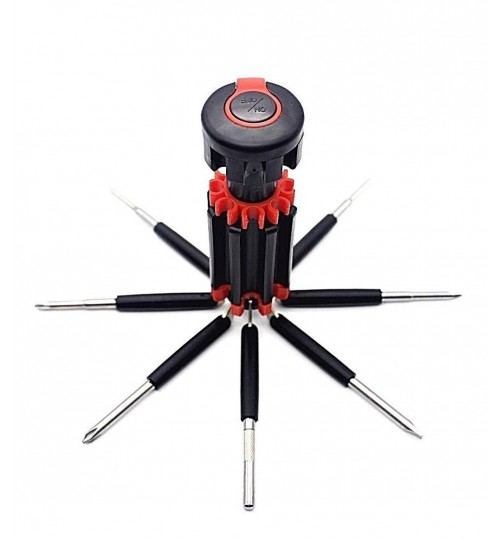 Screwdriver Tools 8 in 1 Set With LED