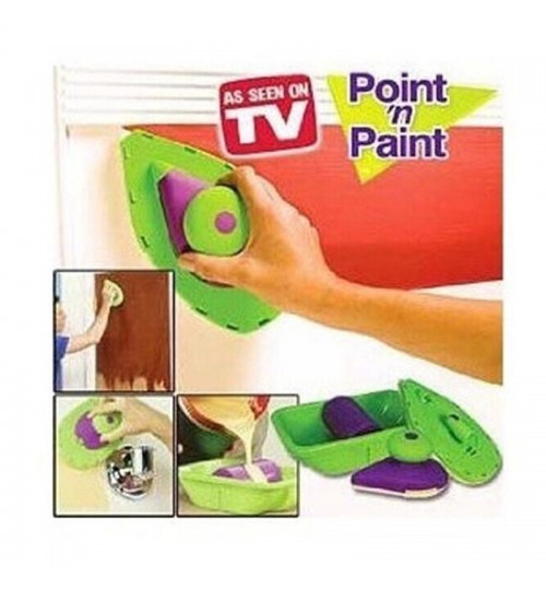 Point And Paint Roller Tray Set