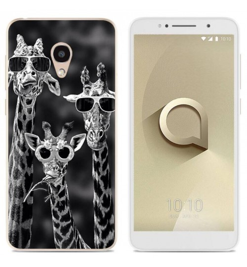 alcatel 3c Case Printed Soft Gel TPU Case