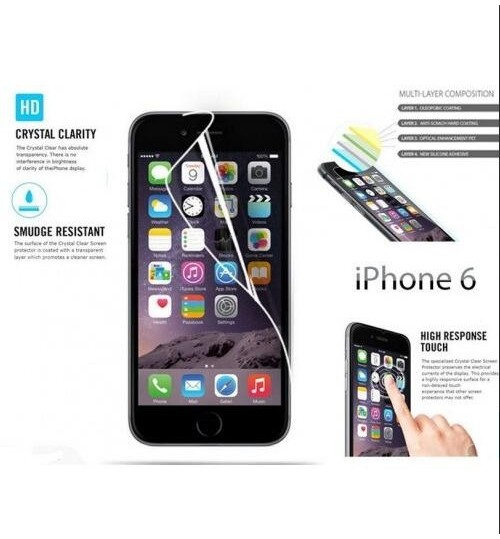 Iphone 6 4.7inch front+back screen protector clear