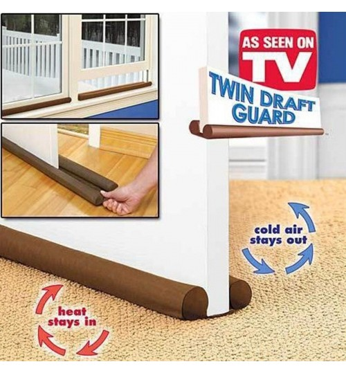 Twin Draft Guard for Door Windows