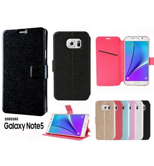 Galaxy Note 5 case luxury slim flip case+combo