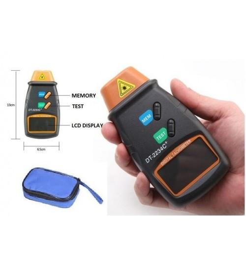 RPM Tester Digital Laser Tachometer NON Contact RPM Tester
