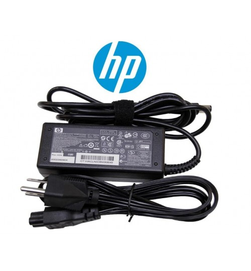 65W AC Adapter for HP Laptop 19.5V 3.33A BlueTip with Power Cord