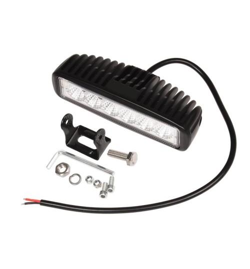 18W (6x3W) CREE LED Flood light Off Road Light Bar work light