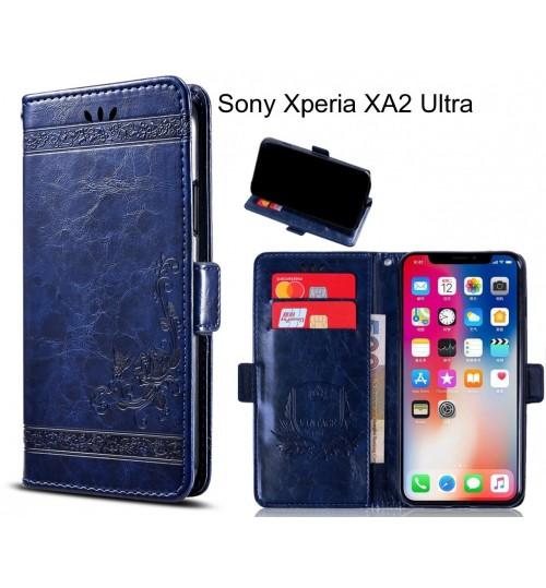 Sony Xperia XA2 Ultra Case retro leather wallet case