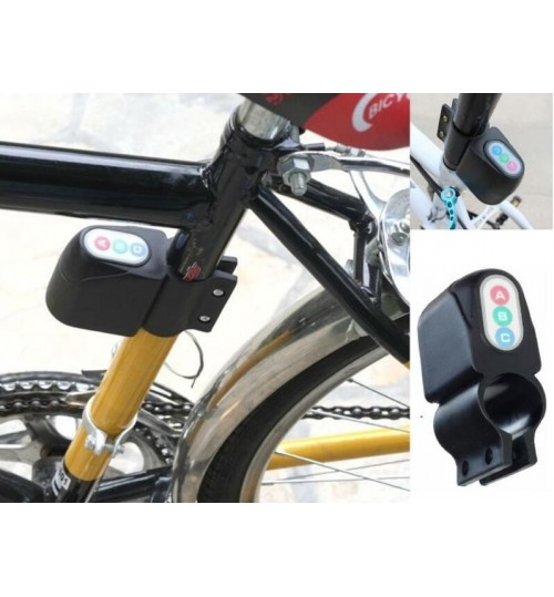 Bike Bicycle Security Alarm with Keypad Bike Bicycle Anti-Theft Security Alarm