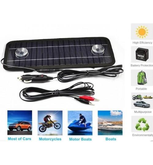 Car Battery Charger Solar 12V 4.5W Car Outdoor Travel Portablel