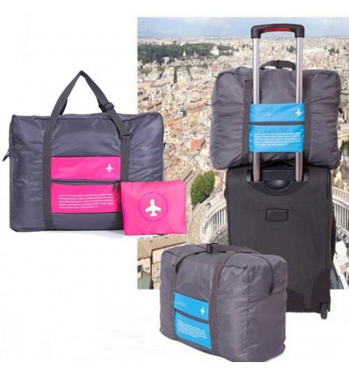 32l Foldable Travel Storage Luggage Hand Shoulder Duffle Bag