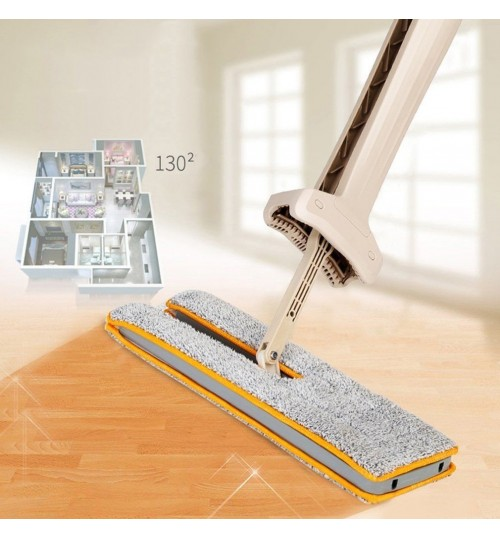 Flat Mop Self-Wringing Double Sided Flat Mop