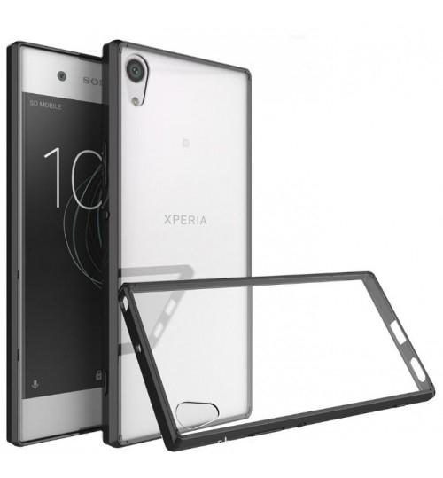 Sony Xperia XA1  case bumper  clear gel back cover