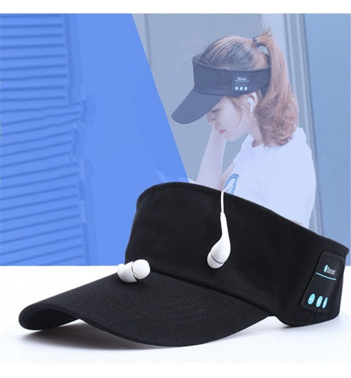 Bluetooth Earphone Sun Hat Wireless Headphone Caps Baseball Headset