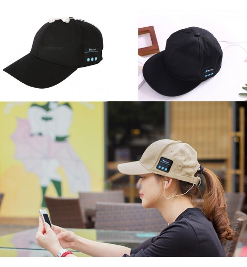 Wireless Bluetooth Earphone Hat Headphone