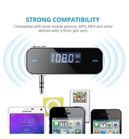Car Wireless Audio Radio FM Transmitter