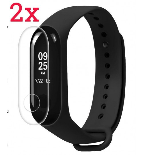 2X Screen Protector Film For Xiaomi Mi Band 3