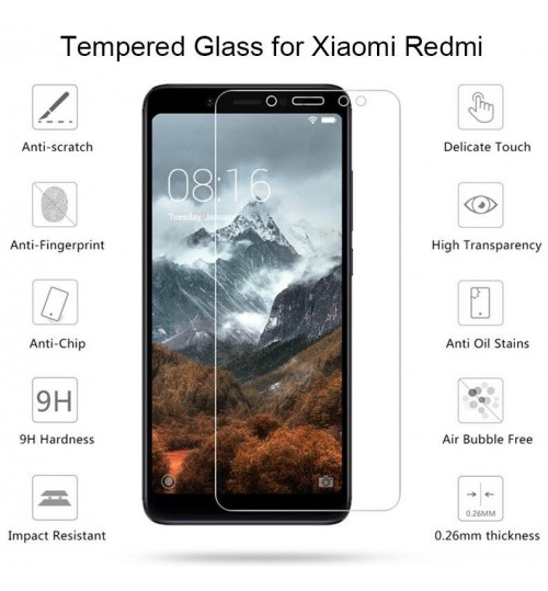 Xiaomi Redmi 6 Tempered Glass Screen Protector