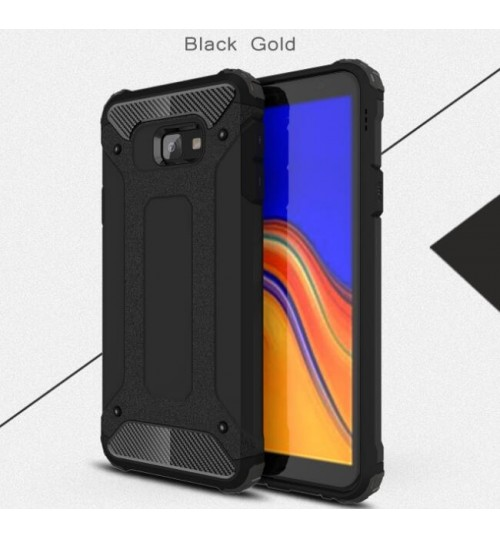 Galaxy J4 Plus Case Armor  Rugged Holster Case
