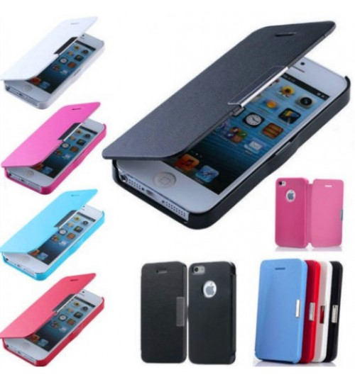 Iphone 4 4s Ultra slim leather case SP 4 colors