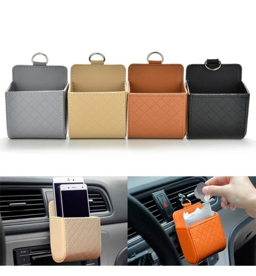 Car Storage Bag Air Conditioner Vent Holder